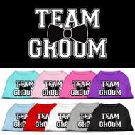 Team Groom Dog Shirt