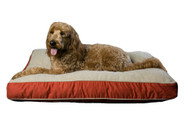 Red Four Seasons Jamison Dog Bed