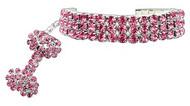 Pink Glamour Bits Dog Jewelry
