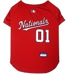 Washington Nationals Baseball Dog Jersey