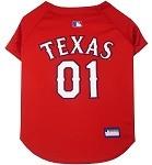 Texas Rangers Baseball Dog Jersey