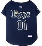 Tampa Bay Rays Baseball Dog Jersey
