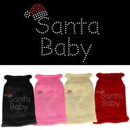 Santa Baby Rhinestone Sweater (Various Colors)