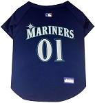 Seattle Mariners Baseball Dog Jersey