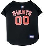 San Francisco Giants Baseball Dog Jersey