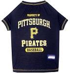 Pittsburgh Pirates Baseball Dog Shirt