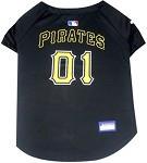 Pittsburgh Pirates Baseball Dog Jersey