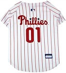 Philadelphia Phillies Baseball Dog Jersey