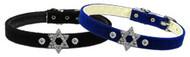 Star of David Charm Dog Collar