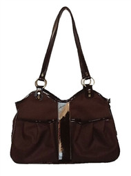 Metro Classic Chocolate Brown  Dog Carrier