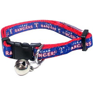 Texas Rangers Cat Collar