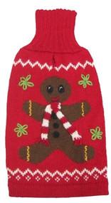 Alpaca Gingerbread Man Holiday Sweater