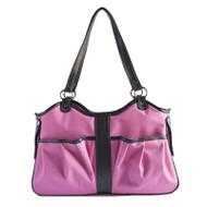 METRO 2 Pink and Black Dog Bag