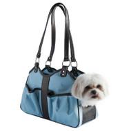 Turquoise Metro 2 Dog Bag