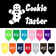 Cookie Taster Dog Bandana