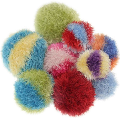 Furry Ball Dog Toy Large Poochieheaven