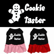 Cookie Taster Dog Dress