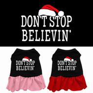 Don't Stop Believin' Dog Dress