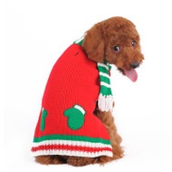 Holiday Mitten & Scarf Sweater