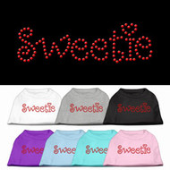 Sweetie Rhinestone Dog Shirt
