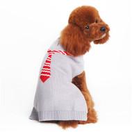 Necktie Dog Sweater