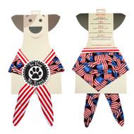 American Flag Dog Bandana