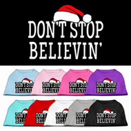 Don't Stop Believin' Dog T-Shirt