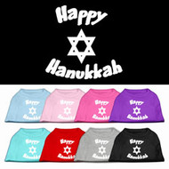 Happy Hanukkah Dog T-Shirt
