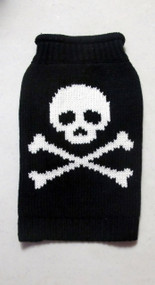Black Skull Cat Sweater