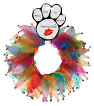 Confetti Jewel Dog Party Collar
