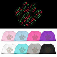 Holiday Paw Dog T-Shirt