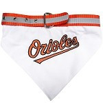 Baltimore Orioles Dog Bandana Collar