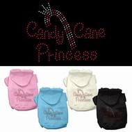 Candy Cane Princess Dog Hoodie