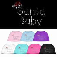 Santa Baby Dog T-Shirt