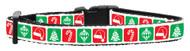 Timeless Christmas Dog Collar