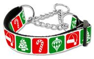 Timeless Christmas Martingale Dog Collar