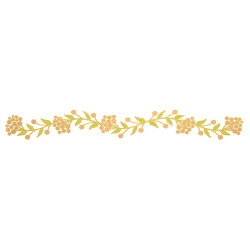 A feminine temporary tattoo with just the right amount of bling, the 'Floral Garden Bracelet' is perfect for brunch, family dinners and girls night out.  @FlashTattoos #FLASHTAT