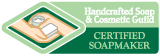 Handcrafted Soap and Cosmetic Guild Certified