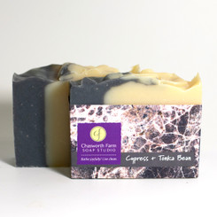 Cypress + Tonka Bean Soap