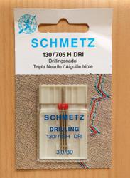 Schmetz Triple sewing machine needles