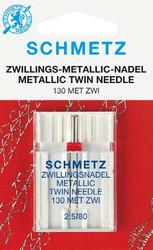 Schmetz Twin Metallic Sewing Machine Needles