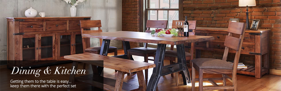 New Dining and Kitchen Furniture at Cramer's Furniture Store in Omak & Ellensburg