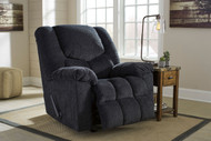 Ashley Turboprop Slate Rocker Recliner
