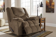 Ashley Turboprop Brownstone Rocker Recliner