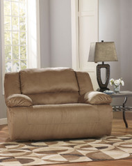 Ashley Hogan Mocha Chair-1/2 Recliner