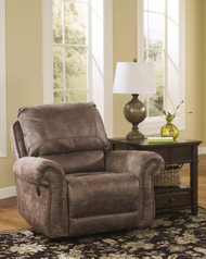 Ashley Oberson Gunsmoke Swivel Glider Recliner