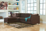 Ashley Maier Walnut Right Arm Facing Sectional
