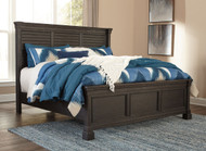 Ashley Tyler Creek Louvered King Bed