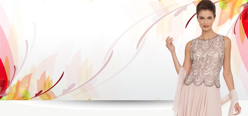 JKARA Beaded Special Occasions Dresses.