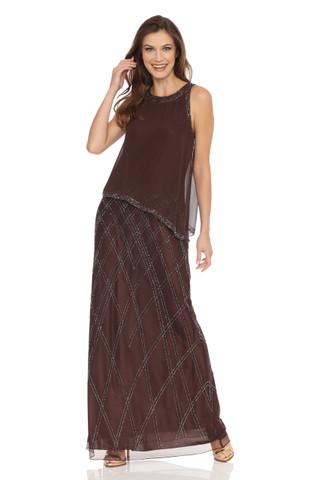 Geometrical pattern Beaded Dress